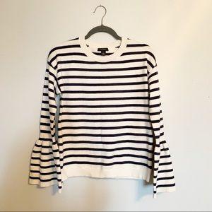 Halogen Striped Knit Sweater